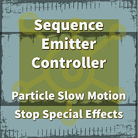 This plugin can help you control all particles of Emitter actors in any sequencer