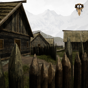 Modular Norse-Style settlement construction pack with a countless combination of possibilities.