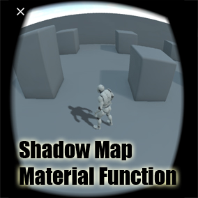 This is independent shadow system with high performance on mobile device, can cast dynamic shadow without light.