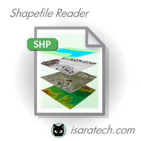 Reader for Shapefile SHP, SHX, and DBF formats