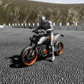 Shoebill is a custom motorcycle with character interaction which you can use it in your projects.