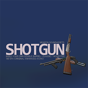 Create your own enhanced shotgun with 180 SFX
