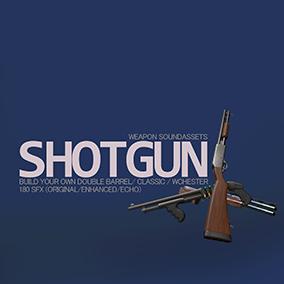 Create your own enhanced shotgun with 180 SFX