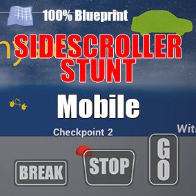 Physics based vehicle side scroller starter kit
