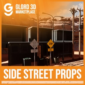 A quality prop pack with 4K textures, 20+ Props. Glord 3D is a digital media company that sells 3D models used in 3D graphics to a variety of industries, including computer games, architecture, and interactive projects.
