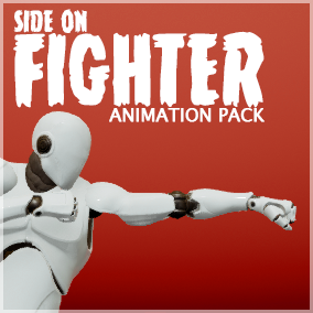 Side on animations for fighting games
