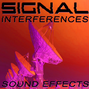 200+ signal interferences sounds, electromagnetic-like and radio transmission noises and glitch sound effects!