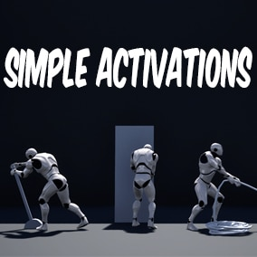 Collection of simple activation animations