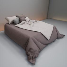 A bedroom furniture set
