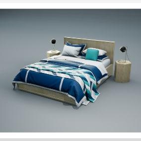 A Bedroom furniture set.