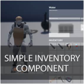This is a simple inventory based on popular survival game inventory. It's built to be able quickly and easily build game with inventory