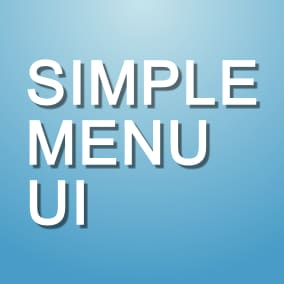Simple Menu UI made only with Blueprints to accelerate your project development.
