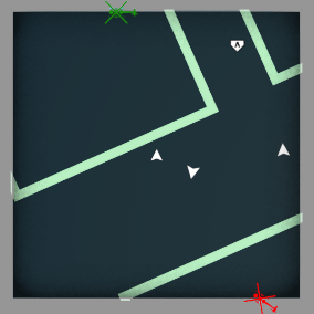 2D minimap with simple customization and dynamic icons.