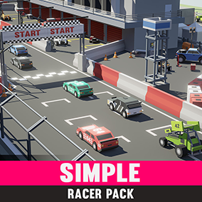 An asset pack of racing themed assets.