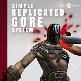 Add multiplayer-ready dismemberment to your game in less than a minute!