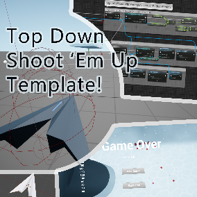 A complete template for creating top down, on-rails shoot em up games.