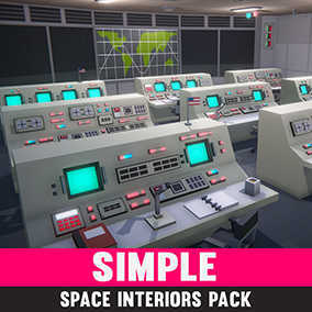 An asset pack of Space themed assets
