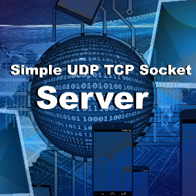 UDP TCP Socket Server. Easy to use TCP and UDP Sockets in Blueprints.