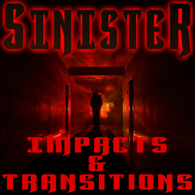 200+ cutting edge, dark cinematic, horror impacts, hits, slams, and transition sound effects!