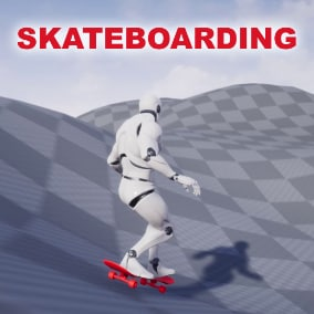 Basic Skateboard Riding System