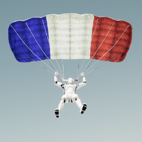 Skydiving and Parachuting animations with complete assets for seamless integration.