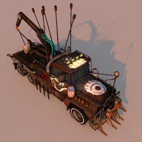 Small Battle Truck