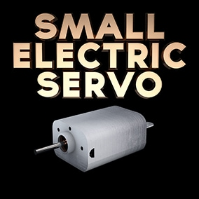 Small electric servo sound effects library