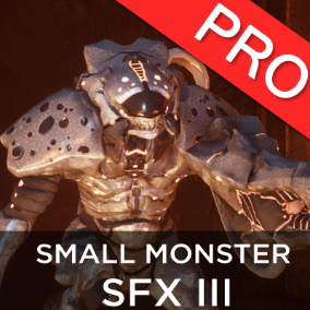 The Small Monsters / Creatures SFX 3 sound effects pack features 23 high quality sounds. Monsters vocals for small creatures