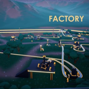 Easy to create a factory with conveyor system!