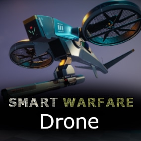 Fully controllable fighter drone for any kind of war game