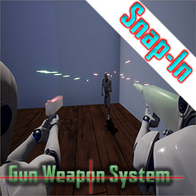 Snap in to any project and have fully customizable projectiles; bullets, grenade launchers, surface/impact types, damage bones and more. Add to your existing characters and guns!