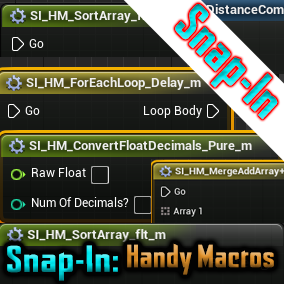 Snap in to any project and have a bunch of handy macros!
