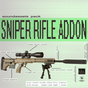 53 Audio Fx. You can build custom rifle with this pack.