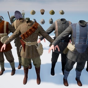 soldiers from WW1