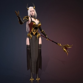 Beautiful character for your game.