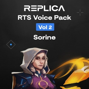 We've used Replica Studios to create a voice pack with 150 unique voice lines for an RTS style game