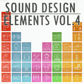 "This is the fourth volume of the sound effects series: ""Sound Design Elements"" Each volume brings you a versatile composite collection of 555 high quality sound effects."