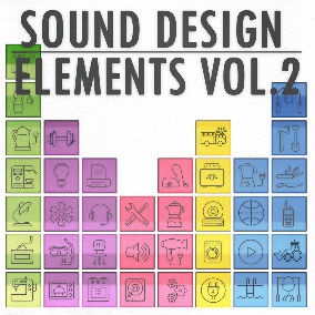 "This is the second volume of the sound effects series: ""Sound Design Elements"" Each volume brings you a versatile composite collection of 555 high quality sound effects."