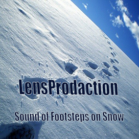 Sound of Footsteps on Snow 25 sounds