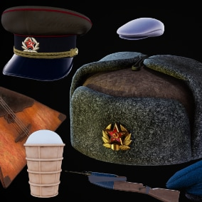 Over 30 iconic soviet props