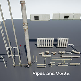 Post Soviet Pipes and Vents