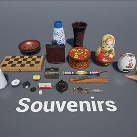 Post Soviet souvenirs