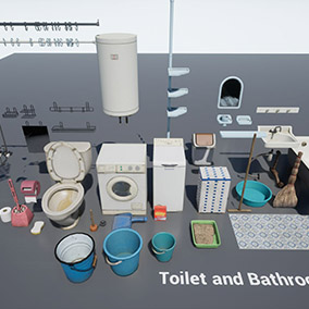 Soviet Toilet and Bathroom