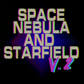 Space Nebula and Starfield V2 - Procedurally generated Universe