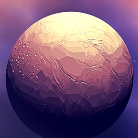 12 unique 4K space skyboxes and 2 unique 4K planets for any stylized space project.