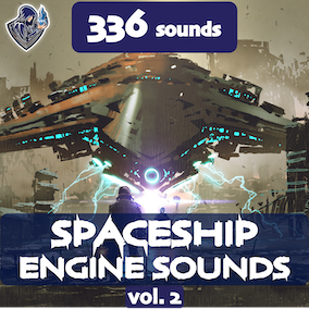 The second version of the futuristic spaceship engine sound package, including 336 high-quality sound effects, 16 kinds of spaceships. Perfect for spacecrafts, spaceships, large drones and UFOs, space and sci-fi vehicles.