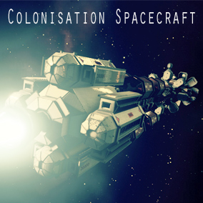 The WS-SP-01 is a Colonization spacecraft for early space exploration, travel and logistics.