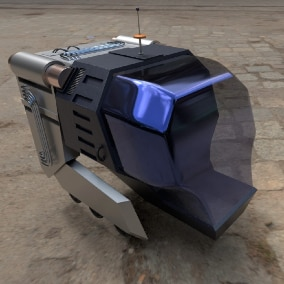 Sci-Fi Spaceship Pack with Animations and Skins