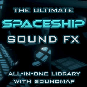 """The spaceship interior sound effects sample pack is a basic """"bring-to-life"""" FX kit containing 475 high-quality sounds."""