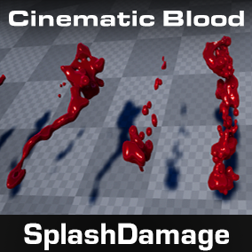 Splash Damage - Blood FX